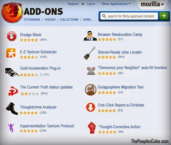 Doug Ross @ Journal: THE PEOPLE'S CUBE: Mozilla Announces New Add-Ons