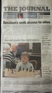"""Second-grader has right moves"""