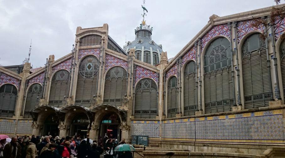 Mercado Central de Valencia.