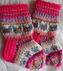 Lasten sukkia