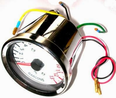 maruza for a better world cara menyambung kabel rpm meter tachometer