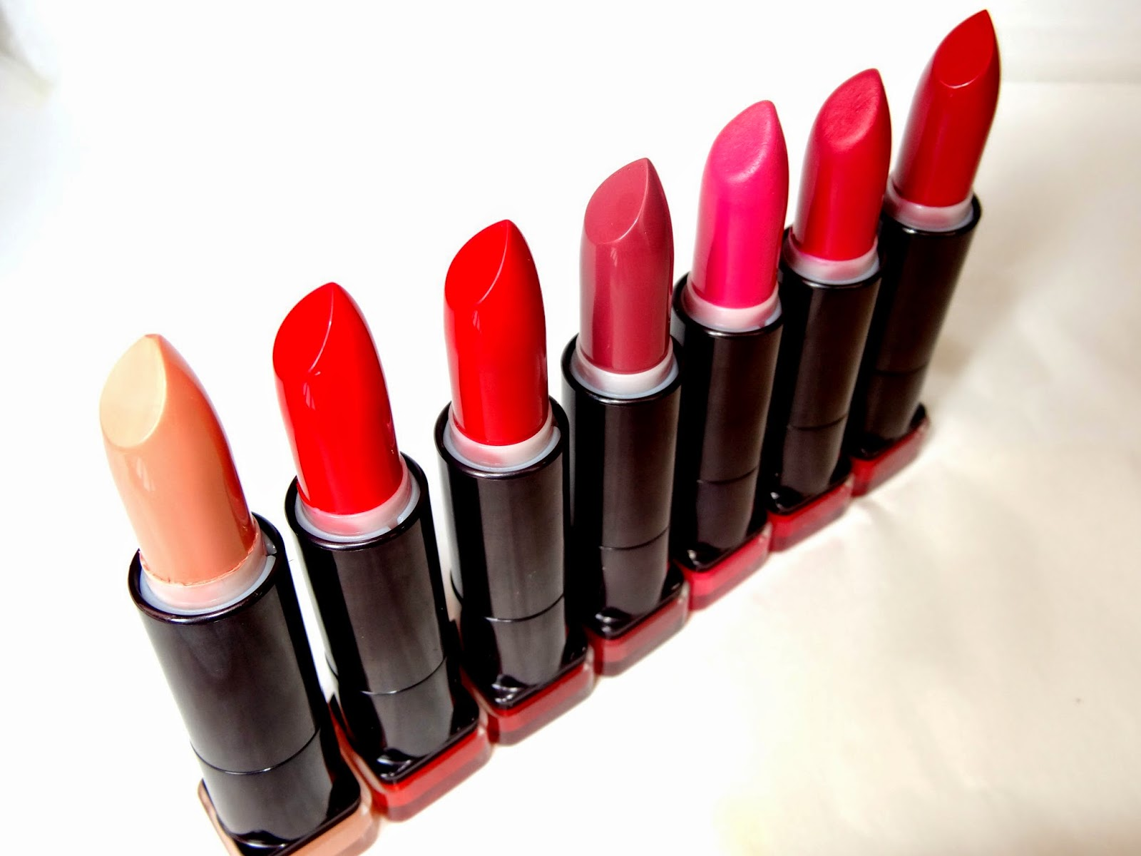 a picture of covergirl lip perfection lipsticks