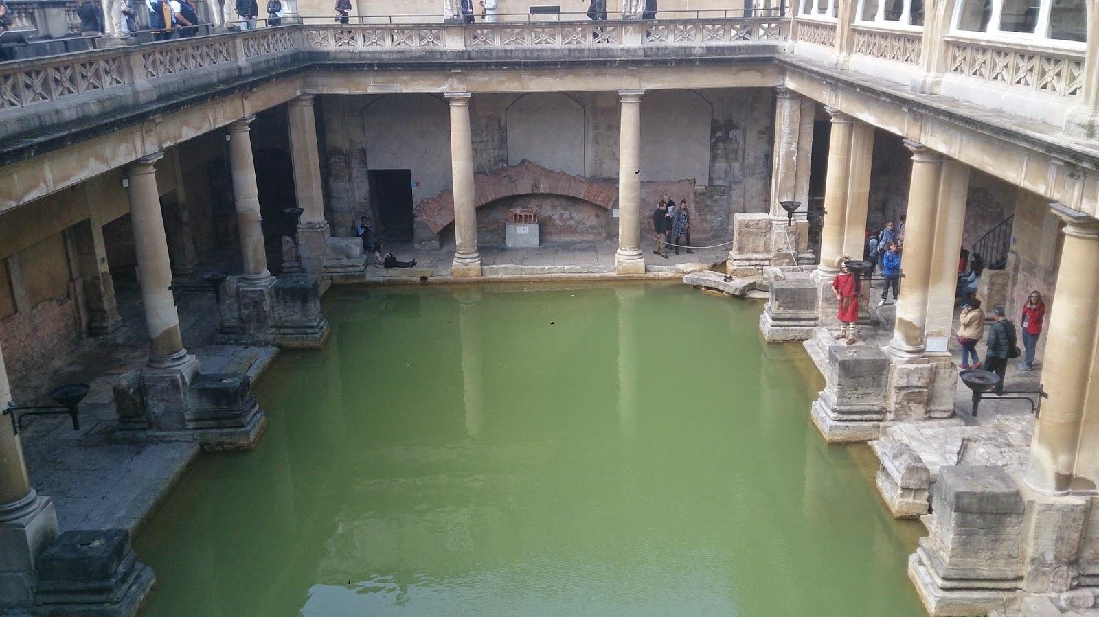 英國 單車 足球 聚舊之旅 羅馬浴場