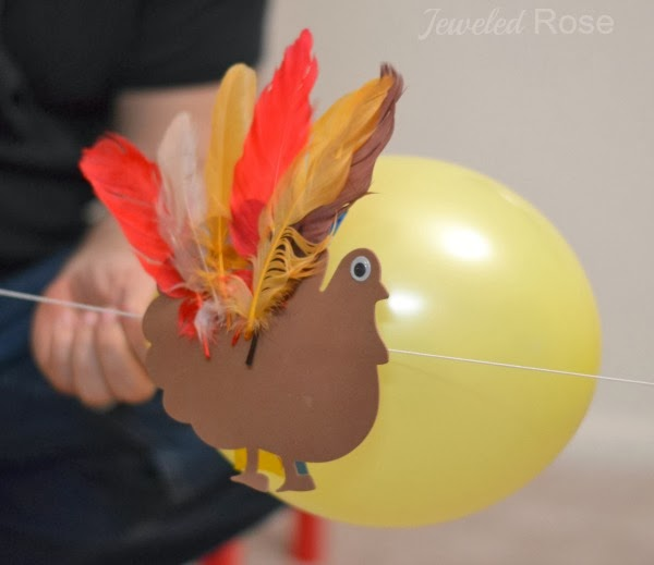 Turkey Rockets= FUN Fall activity for kids