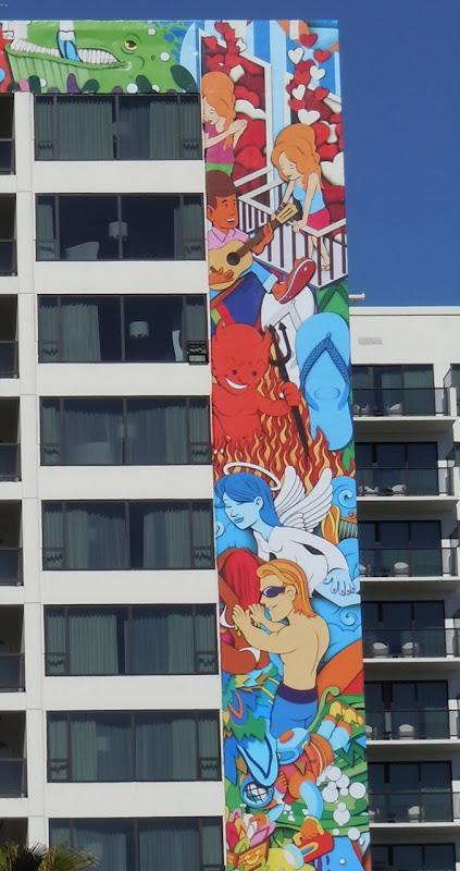 Havaianas flip flops billboard detail