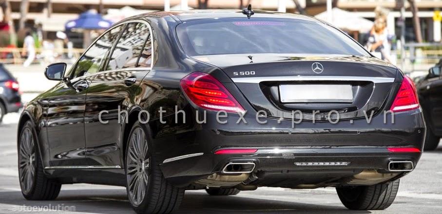 Cho thuê xe Mercedes S500L 2014 bản xe VIP mới nhất hiện nay 2