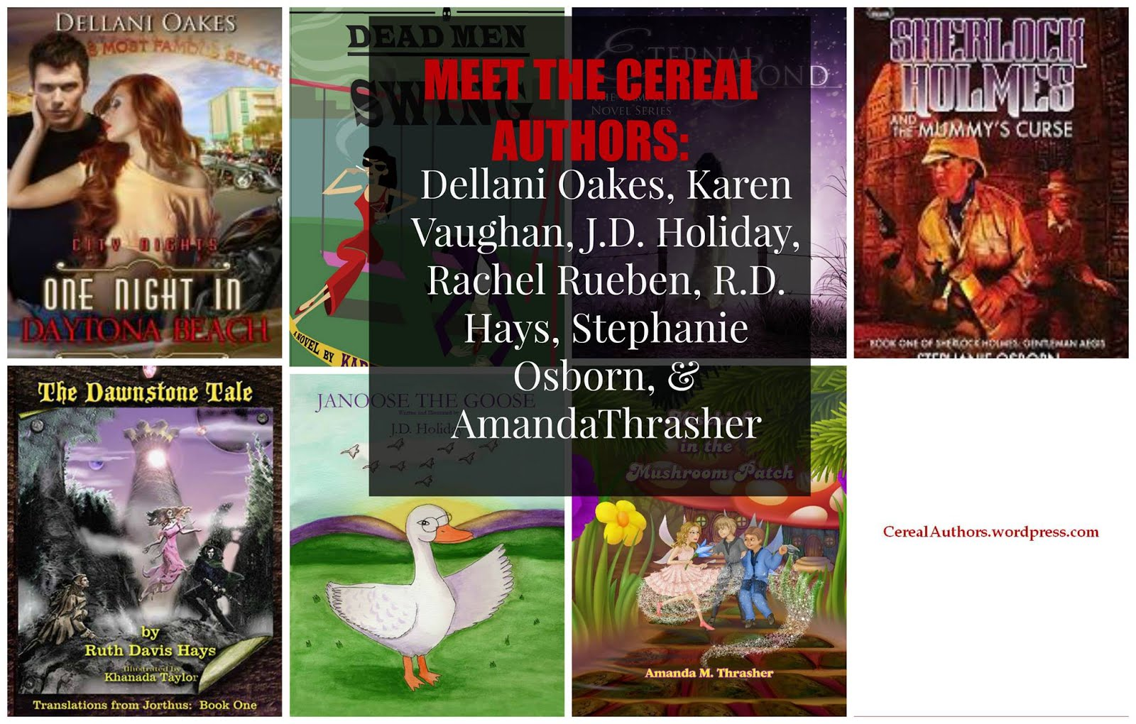 Proud To Be A Member Of Cereal Authors
