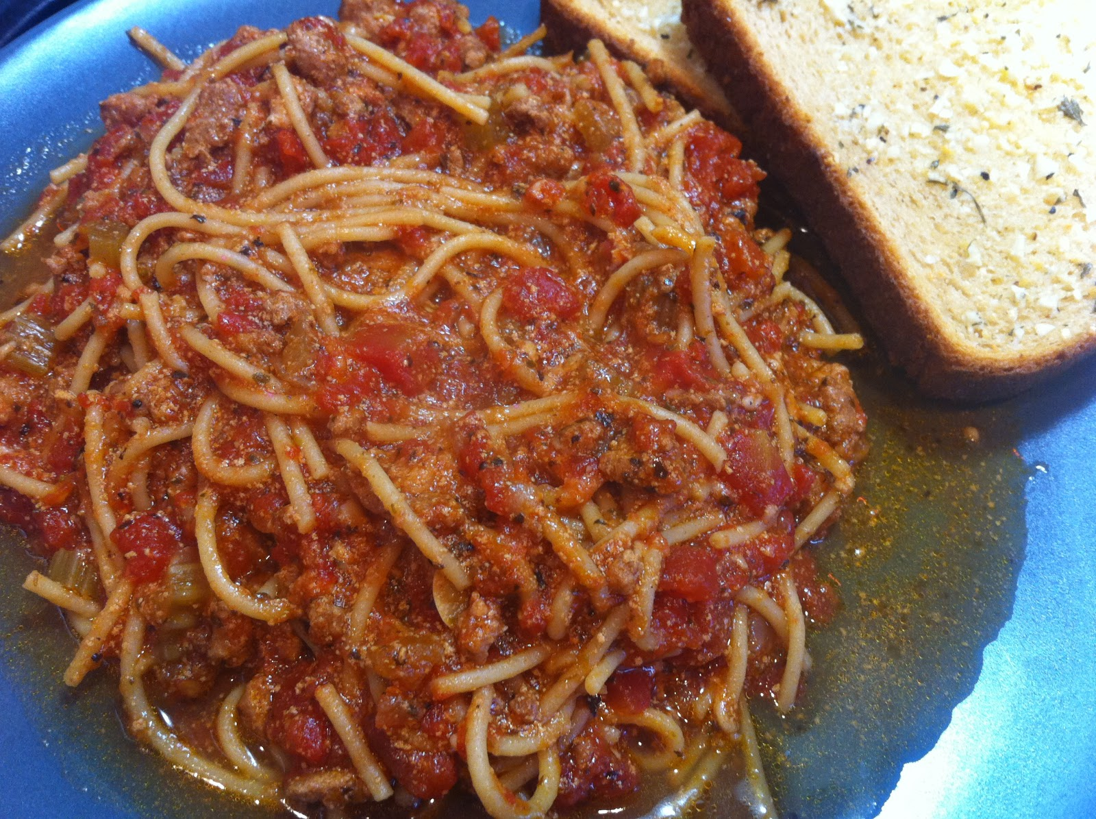 Cooking with SAHD: Spaghetti with Meat Sauce