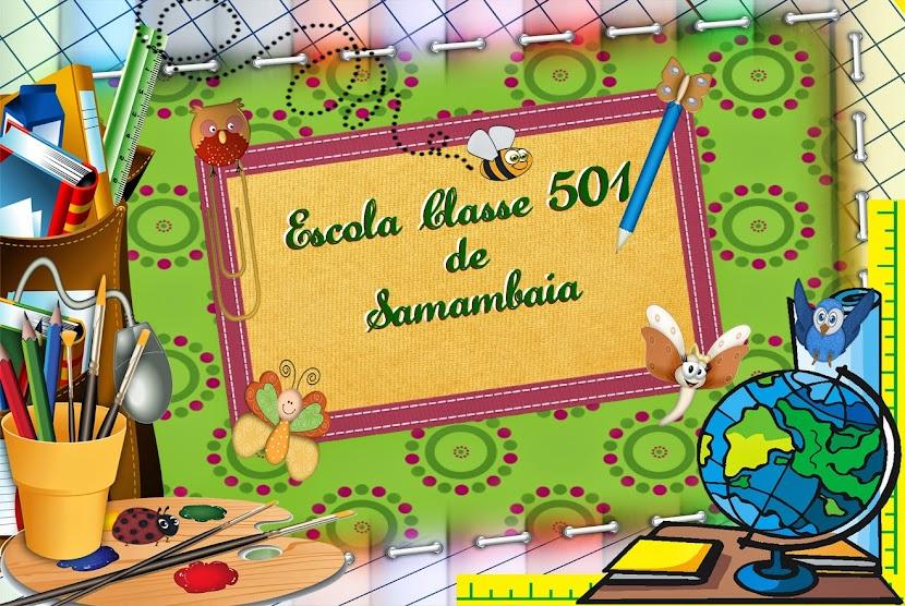 ESCOLA CLASSE 501 DE SAMAMBAIA - DF