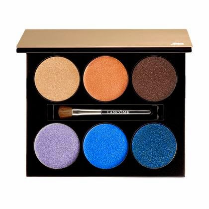 NEW from Lancome: French Paradise The Blue Coral Summer 2015 Collection, Reflets Mediterranee 110 Color Design 6 Pan Palette