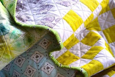 Flea market fancy baby quilt