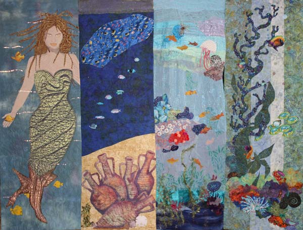 Textile Artists of Greater Yellowstone: Under-the-Sea and Book ... : under the sea quilt - Adamdwight.com