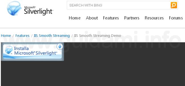 Chrome 42 richiesta installazione plugin Silverlight