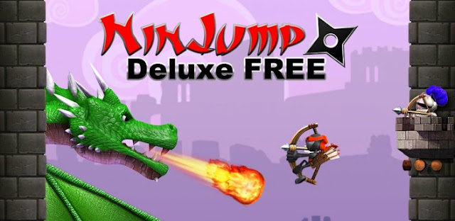 Download Ninjump Deluxe v1.0.2 Android Apk Free [Mod Free Shopping - Compras Gratuitas]