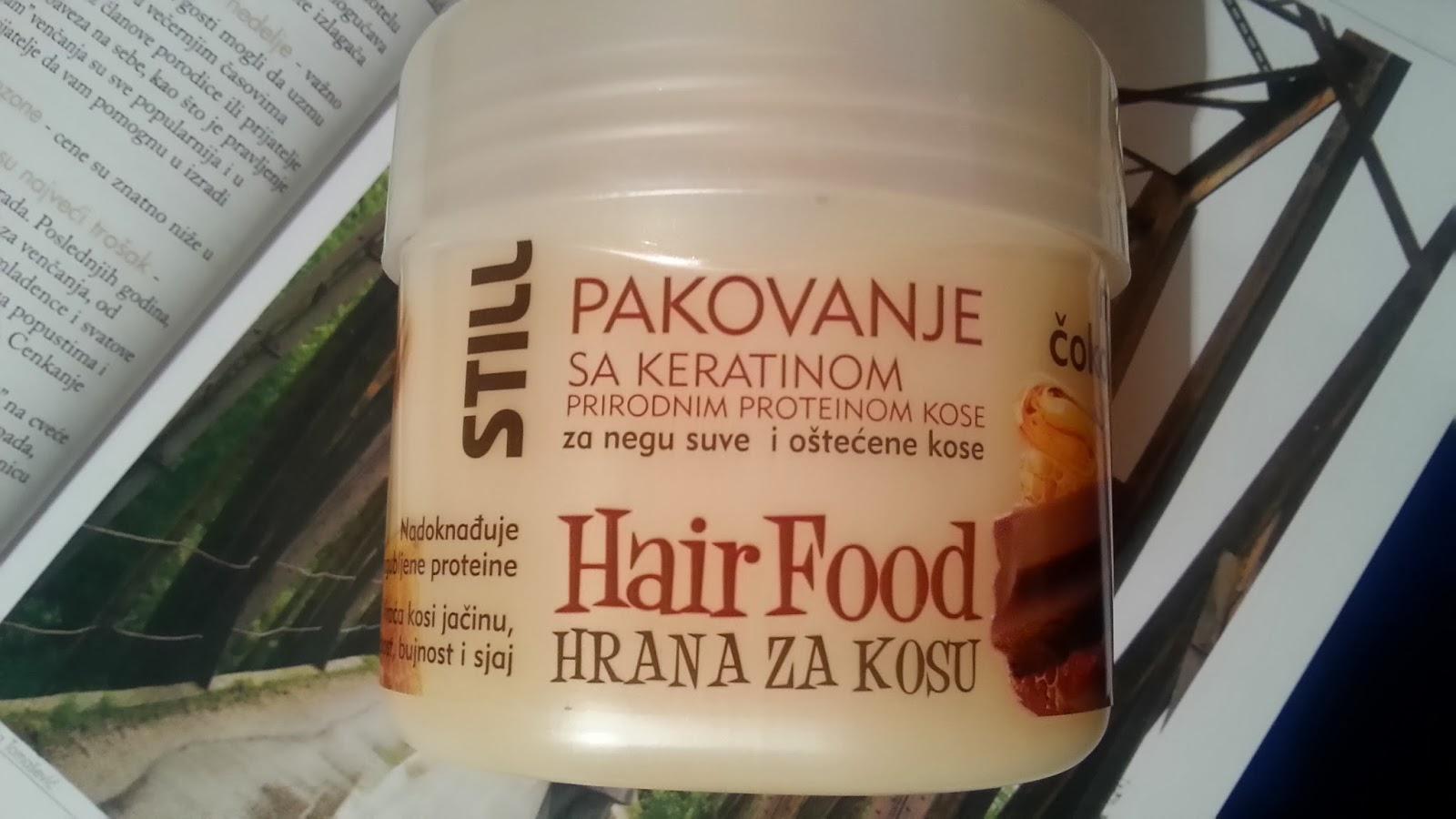 Serial keratin pakovanje za kosu