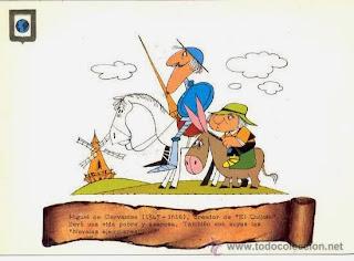 Haz clic en Don Quijote y elige un juego.