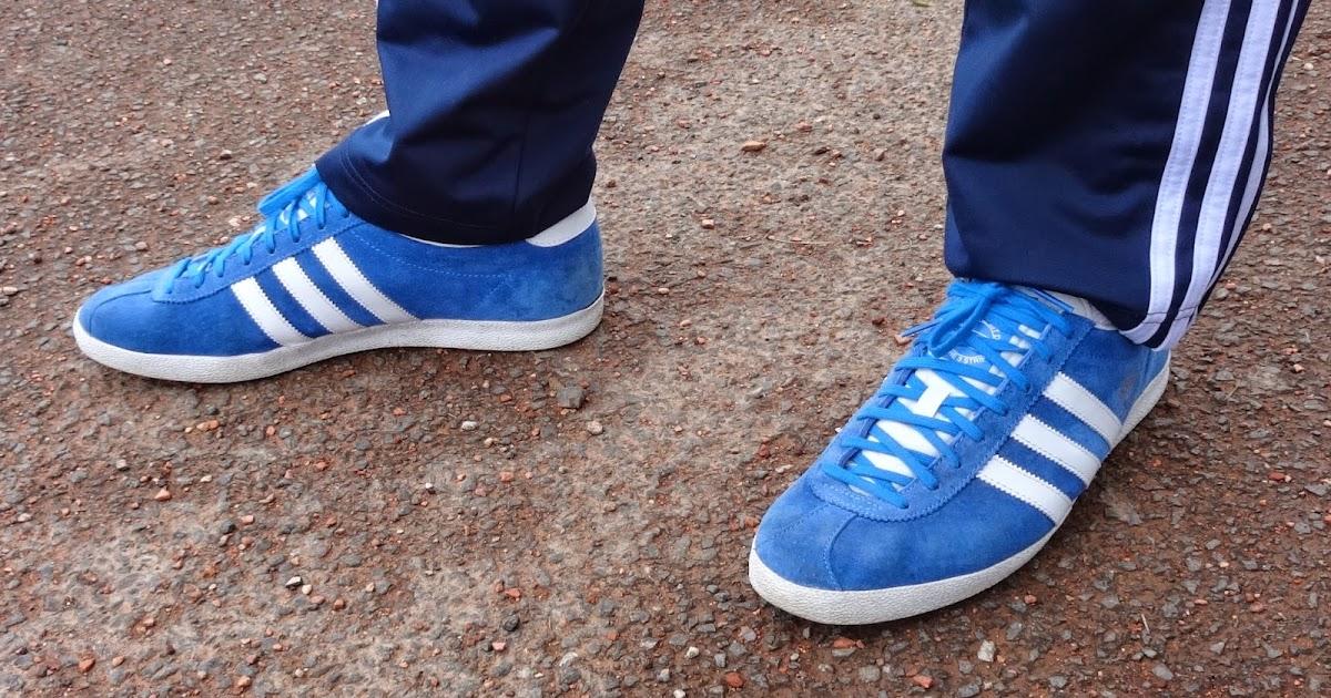 Adidas Gazelle OG Airforce Blue/White/Metalic ... - On My Feet Today