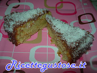 torta alla menta con nutella e cocco