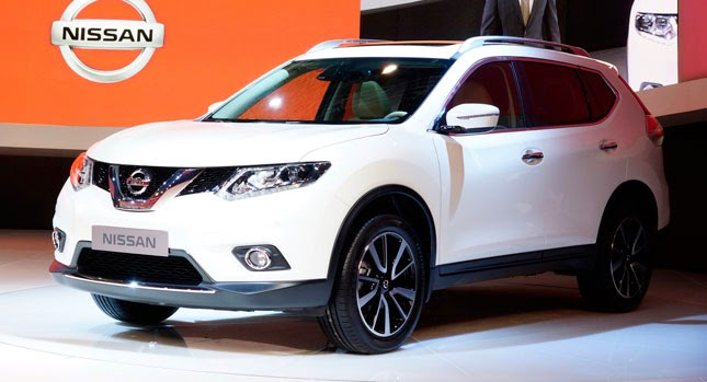 2014 Nissan X-Trail America
