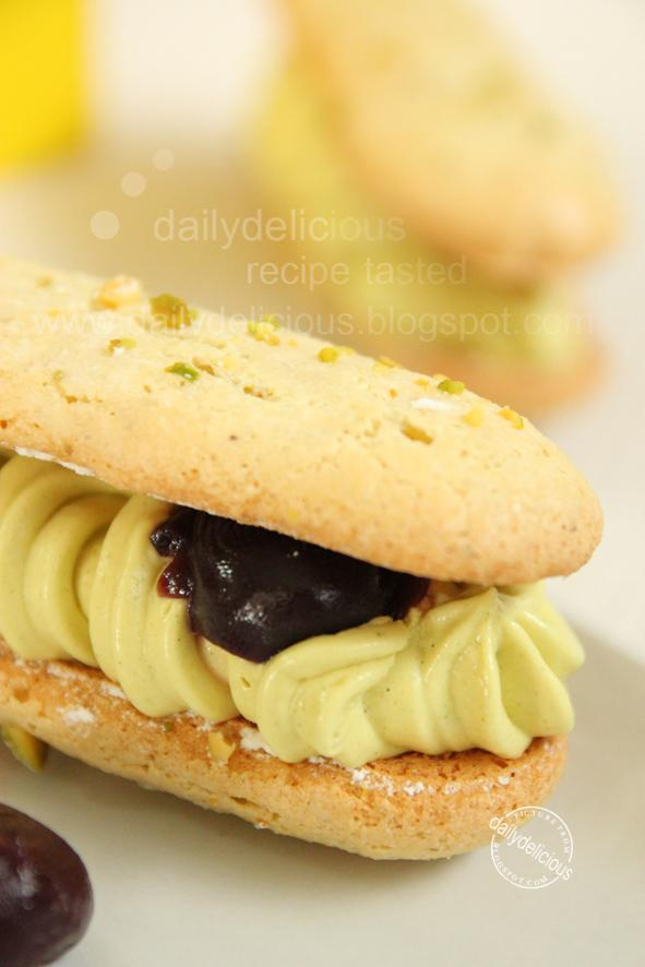 Pistachio Dacquoise: One great dessert from one of great books!