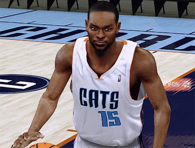 NBA 2K13 Kemba Walker Cyberface Mod v3