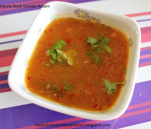 kerala style tomato rasam