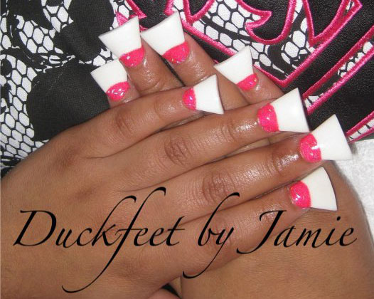 Newest Fashion Trend - Duck Feet Nails