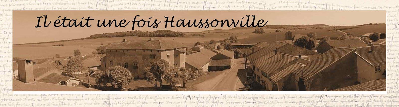 Il était une fois Haussonville