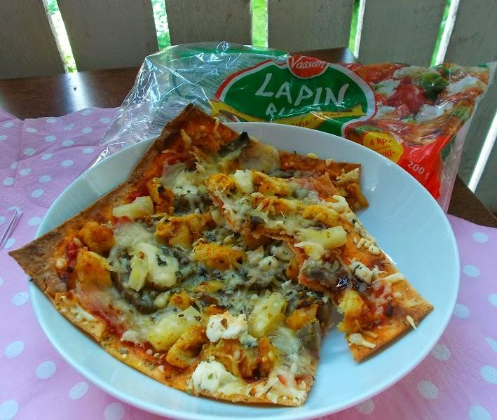 Safkablogi testaa: Lapin Rilla Pizzapohjana