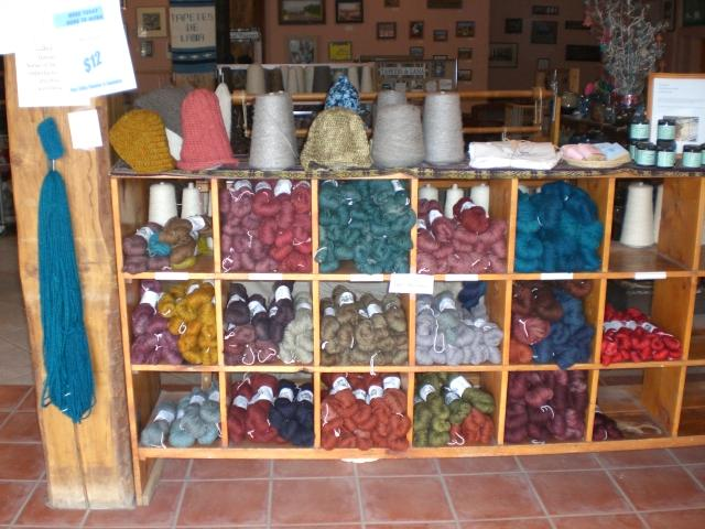 Knitting up the road tapetes de lana weaving center - Tapetes de lana ...