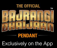 Amazon Exclusive :  The Official Bajrangi Bhaijaan Silver Pendant at Amazon