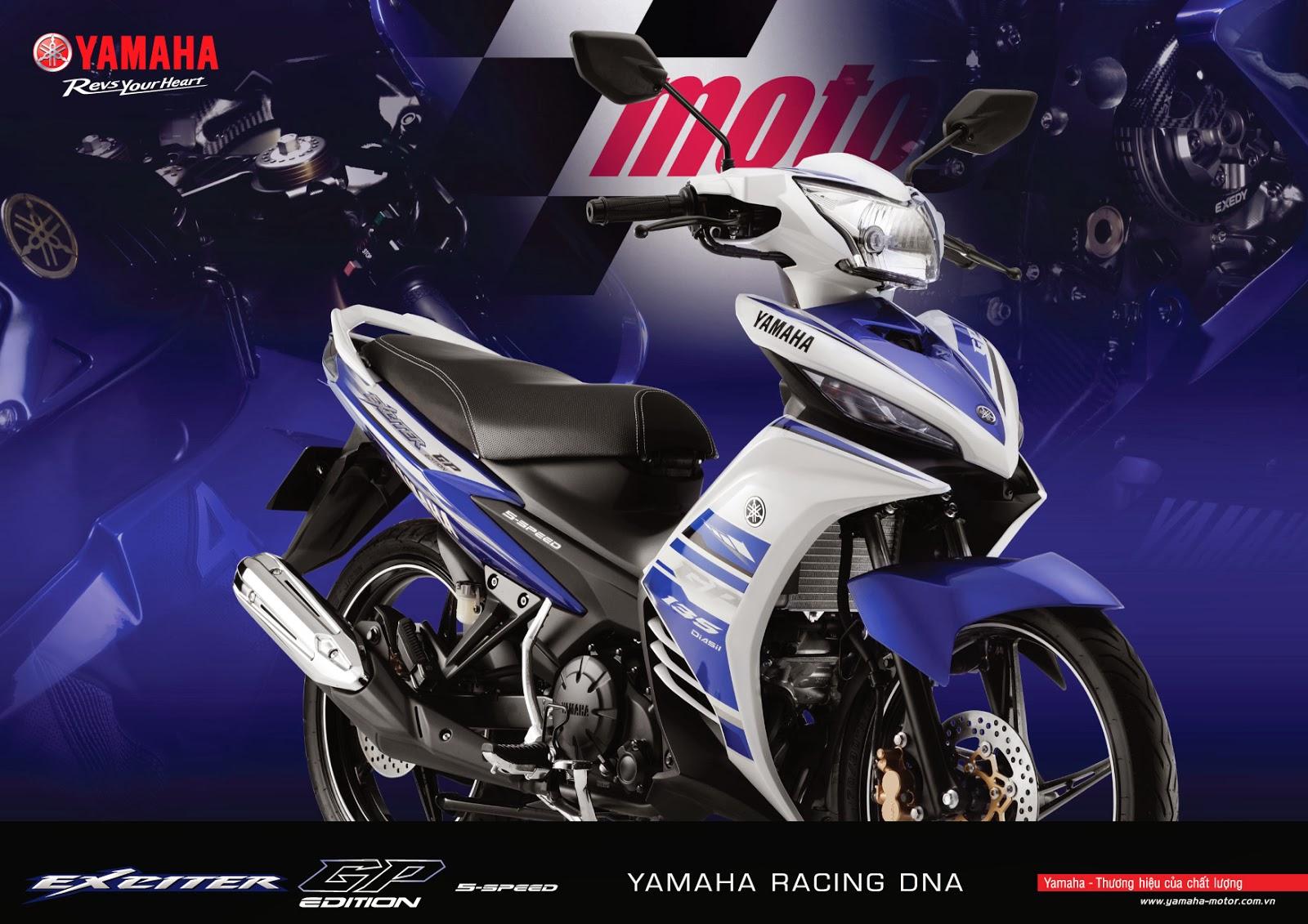 Yamaha Exciter GP màu trắng