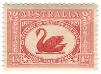 stamp swan