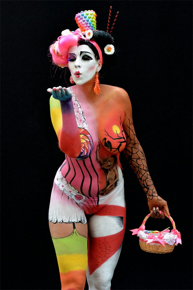 body painting festival 2014 body painting festival 2014 body painting ...