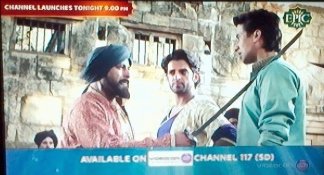 Epic Channel added on Videocon D2H DTH at Channel No.117 (SD)