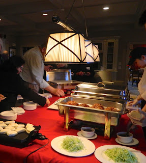 Guests explored China's exotic cuisine with legendary Chef Susanna Foo at the Athertyn Residents' Clubhouse.