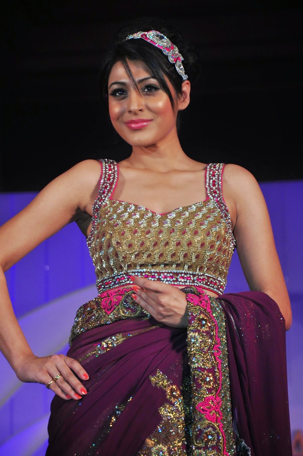 TV Celebs Ramp Walk at Designer Nisha Sagar Fashion Show Photo