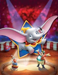 Dumbo as the star Dumbo 1941 disneyjuniorblog.blogspot.com