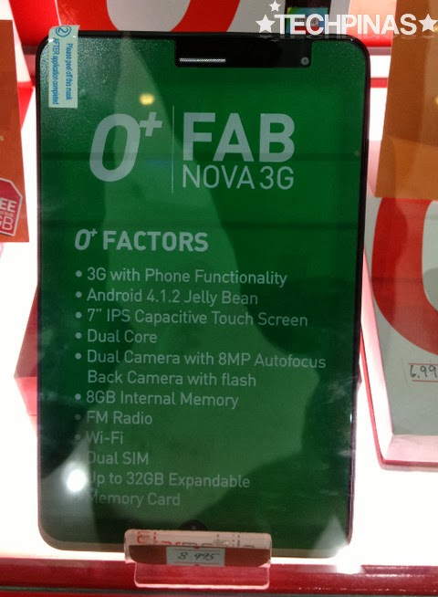 O+ Fab Nova 3G, O+ Tablet, O+ Phone Tablet