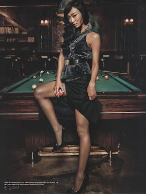 Hyorin SISTAR Vogue Magazine August Issue 2013