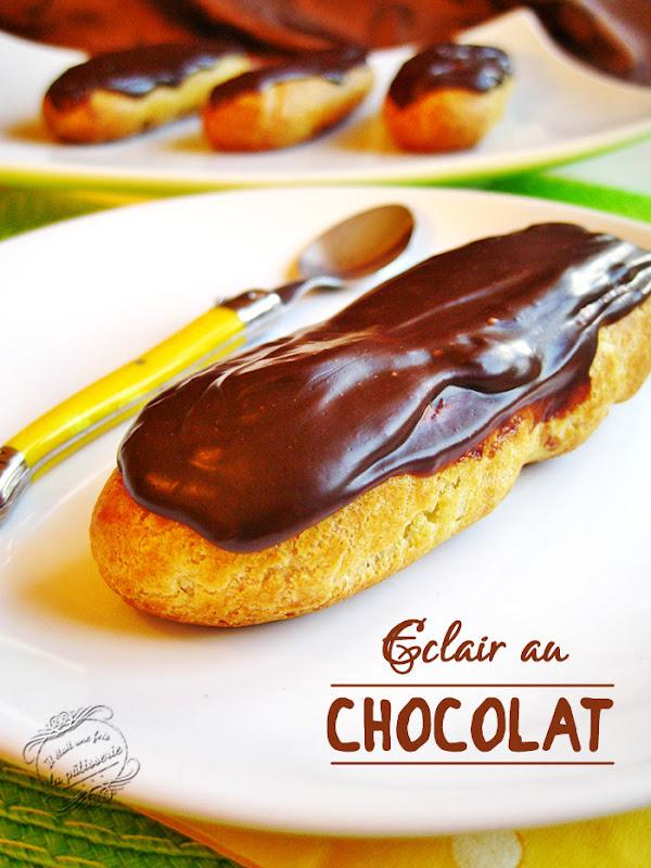 Recette Eclair Au Chocolat Et Au Cafe