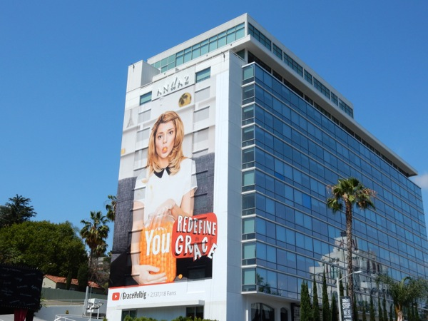 Giant You Redefine Grace YouTube billboard