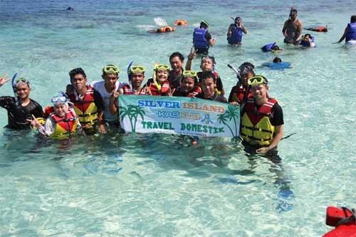 trip ke pulau perak untuk snorkeling