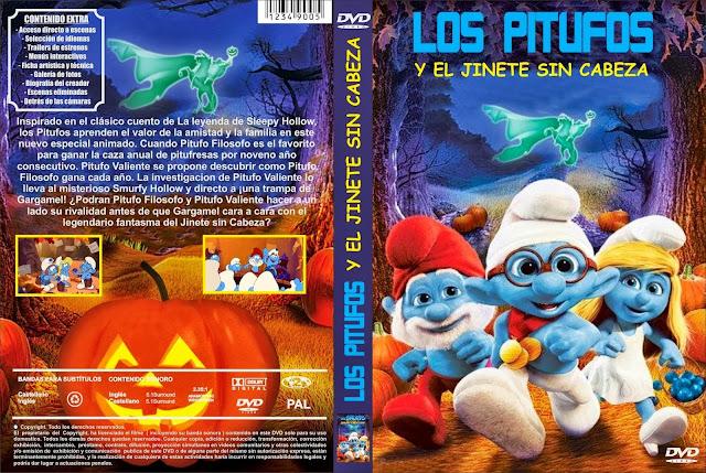 Los Pitufos y El Jinete Sin Cabeza DVD