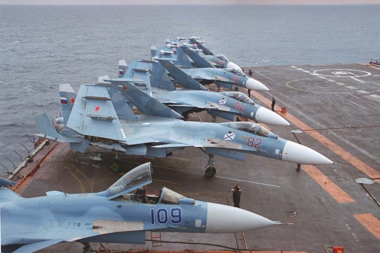 Su-33 Flanker-D Naval Fighter Aircraft