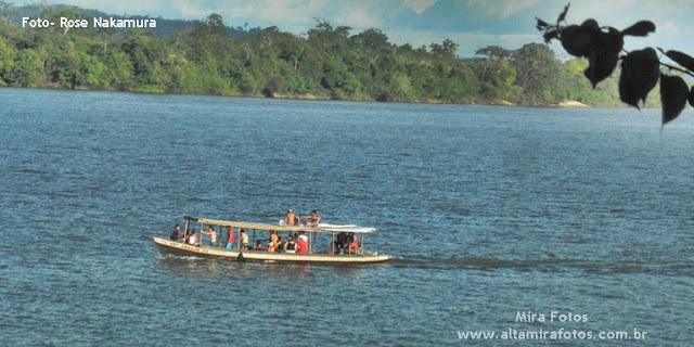 rio Xingu - Cidade de Altamira aonde está sendo construída a Usina Belo Monte
