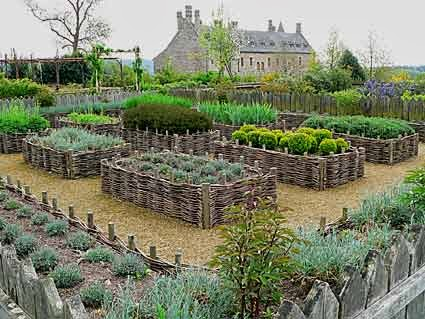 Simple Country Living Dreaming of a Kitchen Garden