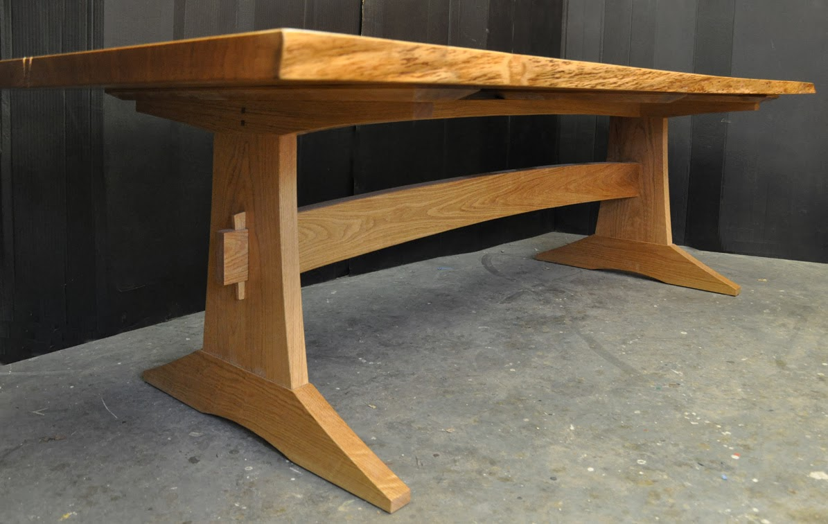 table otway trestle o furniture product kett