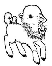 Dibujos y plantillas para imprimir dibujos de ovejas - Dessin agneau ...