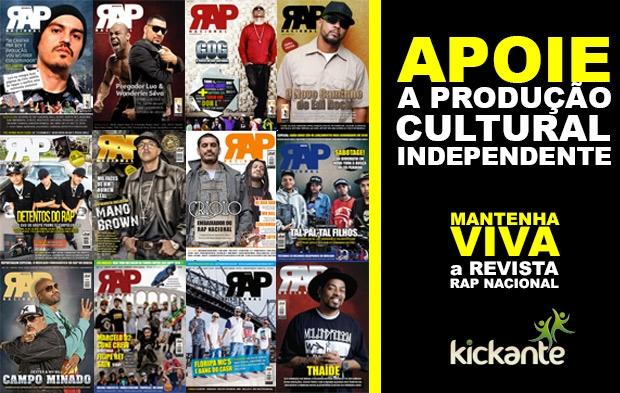 Mantenha viva a Revista Rap Nacional!